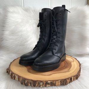 Bottega Veneta soft leather combat boots LIKE NEW